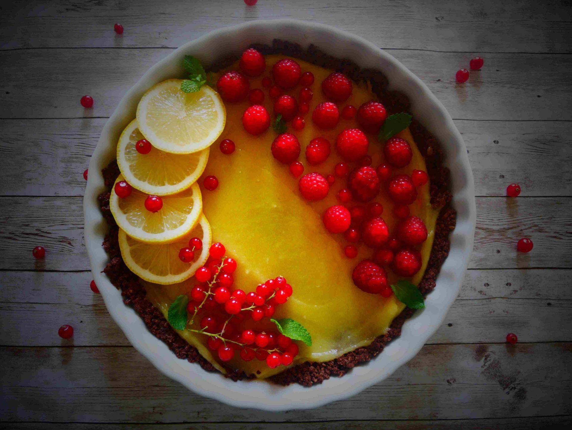 recette naturo de tarte au citron